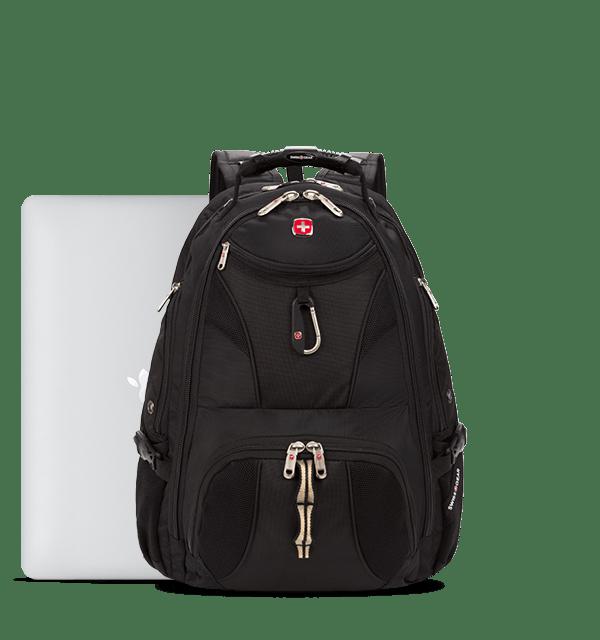 Switzerland Wooden Texture Swiss Flag Children Backpack Pocket Zipper Outdoor Travel School Book Bag