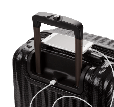 Charging Phone in Luggage USB Port