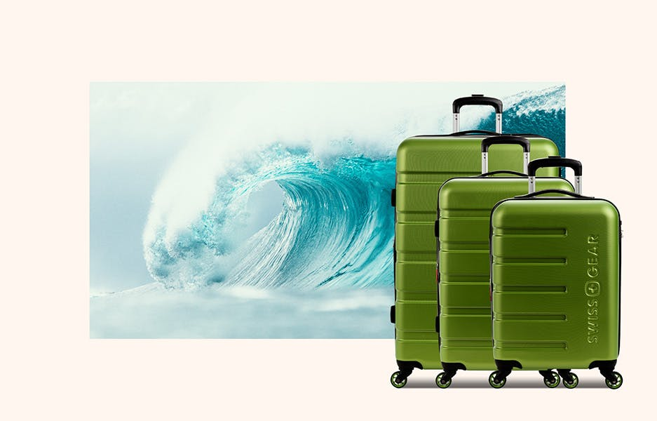 20% off all 2pc & 3pc Luggage Sets!